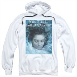 Twin Peaks Hoodie Who Killed Laura White Sweatshirt Hoody