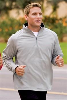 Sport Tek Quarter Zip Sweatshirt Fleece Sport Wick Pullover Sweatshirt