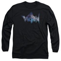 Voltron Shirt Space Logo Long Sleeve Black Tee T-Shirt