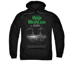 War Of The Worlds Hoodie Poster Black Sweatshirt Hoody