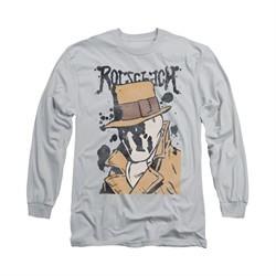 Watchmen Shirt Splatter Long Sleeve Silver Tee T-Shirt