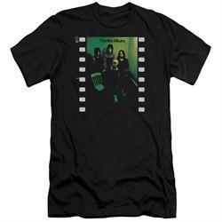 Yes Shirt Slim Fit Album Black T-Shirt