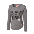 """Dean Ambrose """"Unhinged and on the Fringe"""" Women's Pullover Sweatshirt"""