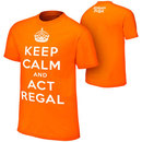 """""""William Regal """"""""Keep Calm & Act Regal"""""""" Youth Authentic T-Shirt"""""""