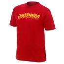 """Hulk Hogan """"Hulkamania"""" Red Authentic T-Shirt"""