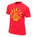 """Hulk Hogan """"Immortal"""" Red Authentic T-Shirt"""