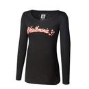 WrestleMania 31 Scoop Neck Women's Long Sleeve Shirt