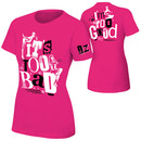 """""""Dolph Ziggler """"""""It's Too Bad I'm Too Good"""""""" Pink Women's Authentic T-Shirt"""""""