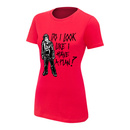 """Dean Ambrose """"Do I Look Like I Have a Plan?"""" Women's Authentic T-Shirt"""