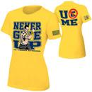 John Cena Gold 10 Years Strong Women's Authentic T-Shirt