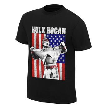 """Hulk Hogan """"Real American"""" T-Shirt"""