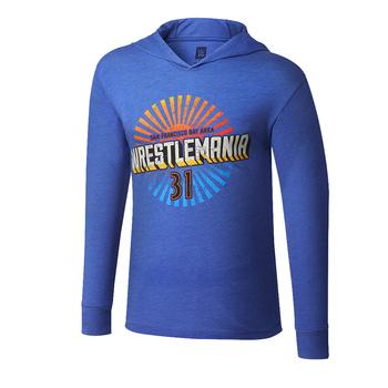WrestleMania 31 Vintage Pullover Hoodie Long Sleeve T-Shirt