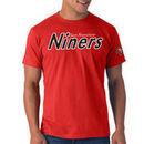 '47 Brand San Francisco 49ers Albright Fieldhouse Premium T-Shirt - Scarlet