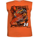 Chase Authentics Tony Stewart Youth Days Of Summer Sleeveless T-Shirt - Orange