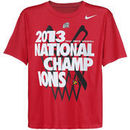 Nike Louisville Cardinals 2013 NCAA Men's Basketball National Champions Youth Celebration T-Shirt - Red
