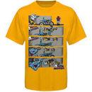 Metal Mulisha Caught Up Youth T-Shirt - Yellow