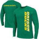 Oregon Ducks Twister Long Sleeve T-Shirt - Green