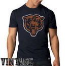'47 Brand Chicago Bears Bear Head Scrum Vintage T-Shirt - Navy Blue