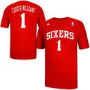 Michael Carter-Williams Philadelphia 76ers adidas Net Number T-Shirt - Red