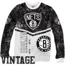 Mitchell & Ness Brooklyn Nets In the Stands Fleece Sweatshirt - Black