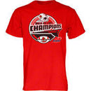 Louisville Cardinals Youth 2012 Big East Conference Football Champions Bunt T-Shirt
