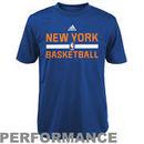 adidas New York Knicks Youth On-Court ClimaLITE Performance T-Shirt - Royal Blue