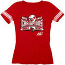 Louisville Cardinals Women's 2012 Big East Conference Football Champions Lobbed Jersey T-Shirt