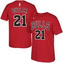 Jimmy Butler Chicago Bulls adidas Net Number T-Shirt - Red