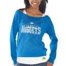 Denver Nuggets Womens Holy Long Sleeve T-Shirt and Tank - Powder Blue