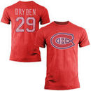 Old Time Hockey Ken Dryden Montreal Canadiens Alumni Player Vintage Heathered T-Shirt - Red