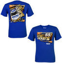 Chase Authentics Brian Vickers Chassis T-Shirt - Royal Blue