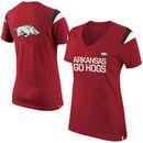 Nike Arkansas Razorbacks Women's Fan Top T-Shirt - Cardinal