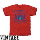 Kansas Jayhawks Stadium Tri-Blend T-Shirt - Red