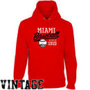 Miami University RedHawks Ballpark Pullover Hoodie - Red