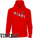 Miami University RedHawks Acronym Pullover Hoodie - Red