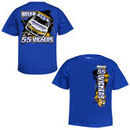 Chase Authentics Brian Vickers Youth Epic T-Shirt - Royal Blue