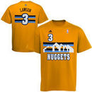 adidas Ty Lawson Denver Nuggets Youth Player Name and Number T-Shirt - Gold