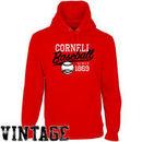 Cornell Big Red Ballpark Pullover Hoodie - Carnelian