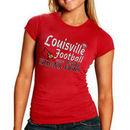 Louisville Cardinals Women's 2013 Sugar Bowl Bound Logo T-Shirt - Red
