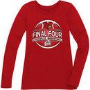Louisville Cardinals Womens 2013 Final Four Bubo Long Sleeve T-Shirt - Red