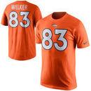Wes Welker Denver Broncos Nike Player Name & Number T-Shirt - Orange