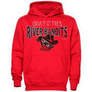 Quad City River Bandits Heavy Blended Hoodie - Red