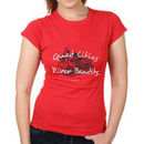 Quad City River Bandits Women's Softstyle T-Shirt - Red