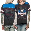 Affliction Live Fast Tour Juniors T-Shirt - Black