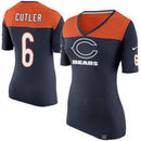 Jay Cutler Chicago Bears Nike Women's Starters Only Name and Number T-Shirt - Navy Blue