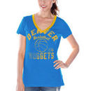 Denver Nuggets Women's Back Court Current Day Logo T-Shirt - Powder Blue