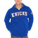 New York Knicks Sherpa Full-Zip Hooded Sweatshirt - Royal Blue