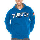 Oklahoma City Thunder Sherpa Full-Zip Hooded Sweatshirt - Royal Blue