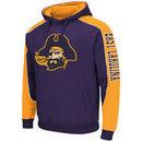 East Carolina Pirates Thriller II Pullover Hoodie - Purple