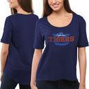 Auburn Tigers Women's Jewel Top II T-Shirt - Navy Blue